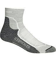 Icebreaker Hike + Light Mini - kurze Socken - Damen, Dark Grey/Grey