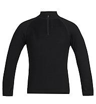 Icebreaker K 260 Tech Long -  maglietta tecnica - bambino, Black