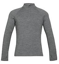 Icebreaker K 260 Tech Long -  maglietta tecnica - bambino, Grey