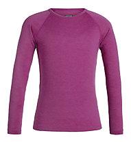 Icebreaker K Merino 200 Oasis - Funktionsshirt - Kinder, Pink