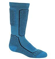Icebreaker K Ski + Medium Over the Calf - Socken - Kinder, Light Blue