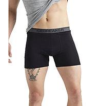 Icebreaker M Anatomica - boxer - uomo, Black