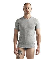 Icebreaker M Anatomica SS Crewe - maglia funzionale - uomo, Grey