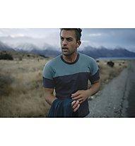 Icebreaker M Cool-Lite™ Kinetica Crewe - t-shirt trekking - uomo, Light Blue/Blue