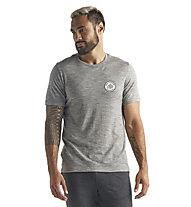 Icebreaker M Tech Lite SS Crewe Nomad For - T-shirt - uomo, Grey