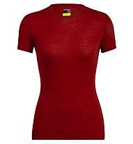 Icebreaker Merino 175 Everyday - maglietta tecnica - donna, Red