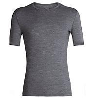 Icebreaker Merino 200 Oasis - maglietta tecnica a manica corta - uomo, Grey