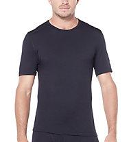 Icebreaker Merino 200 Oasis - maglietta tecnica a manica corta - uomo, Black