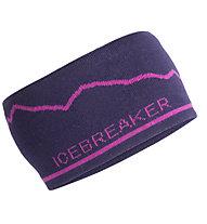 Icebreaker MT Cook - Stirnband, Violet