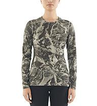 Icebreaker Natural Dye 200 Oasis Thermal LS Anniversary IB Glacier - maglietta funzionale a maniche lunghe - donna, Grey