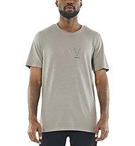 Icebreaker Natural Dye 200 SS Crewe XXV - T-Shirt - Herren, Grey
