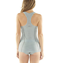 Icebreaker Sprite Tank - canotta intima - donna, Grey/Light Blue