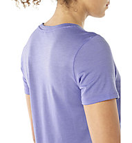 Icebreaker Tech Lite Low Crewe Calla Lily - T-shirt - donna, Violet
