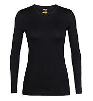 Icebreaker W Merino 200 Oasis - Funktionsshirt - Damen, Black