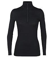 Icebreaker W Merino 200 Oasis - maglietta tecnica - donna, Black