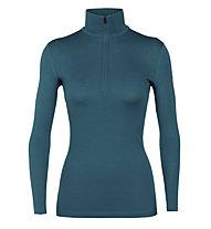 Icebreaker W Merino 200 Oasis - maglietta tecnica - donna, Blue