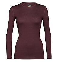 Icebreaker W Merino 200 Oasis - maglietta tecnica - donna, Red