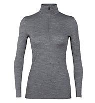 Icebreaker W Merino 200 Oasis - maglietta tecnica - donna, Grey