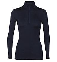 Icebreaker W Merino 200 Oasis - maglietta tecnica - donna, Dark Blue