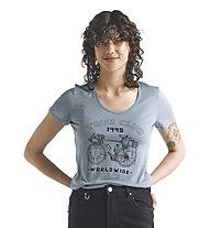 Icebreaker W Tech Lite SS Scoop Tour Club - T-Shirt - Damen, Blue