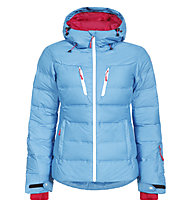 Icepeak Berit Damen-Daunenjacke, Light Blue