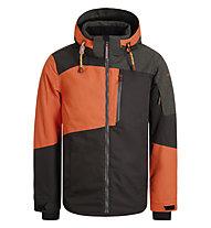 Icepeak Canova - Skijacke - Herren, Grey/Orange