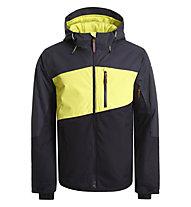 Icepeak Canova - Skijacke - Herren, Grey/Yellow