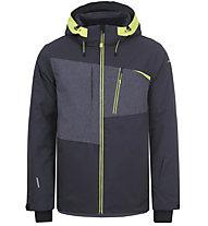 Icepeak Carver - giacca da sci - uomo, Dark Grey