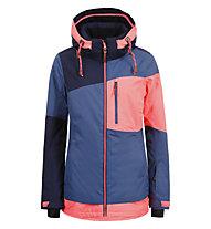 Icepeak Cathay - Skijacke - Damen, Blue/Pink