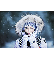 Icepeak Charlie IA - Skijacke - Damen, White/Black