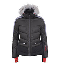 Icepeak Electra - Skijacke - Damen, Dark Green/Grey