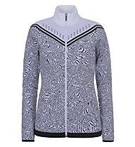 Icepeak Emelle - giacca in pile - donna, White/Black
