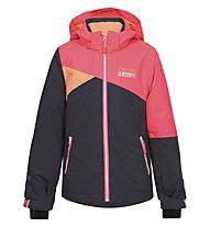 Icepeak Haley - Skijacke - Kinder, Orange/Grey
