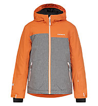 Icepeak Harry JR Kinder-Skijacke, Orange/Grey