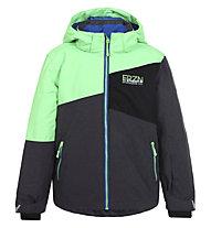 Icepeak Harry - Skijacke - Kinder, Grey/Green