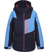 Icepeak Jeddo KD - giacca da sci - bambino, Blue/Light Blue