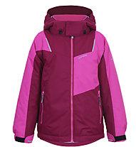 Icepeak Jeddo KD - giacca da sci - bambino, Dark Red/Pink