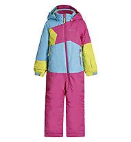 Icepeak Jixi Overall - Skianzug - Kinder, Pink/Light Blue