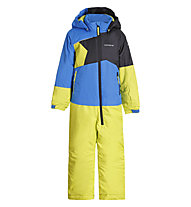 Icepeak Jixi Overall - Skianzug - Kinder, Light Blue/Yellow
