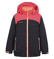 Icepeak Jolie J - giacca da sci - bambina, Grey/Orange