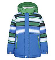 Icepeak Jonas KD - giacca da sci - bambino, Light Blue/Green