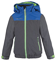 Icepeak Jude - Skijacke - Kinder, Grey/Light Blue