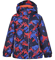 Icepeak Junction KD - giacca da sci - bambino, Red/Blue