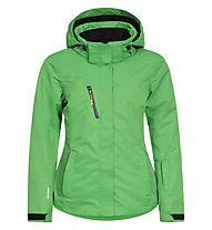 Icepeak Kaisa Damen-Skijacke, Green