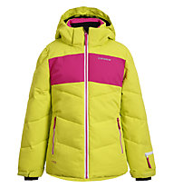 Icepeak Lages - Skijacke - Mädchen, Yellow/Pink