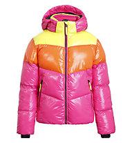 Icepeak Lamoni - Skijacke - Mädchen, Pink/Orange