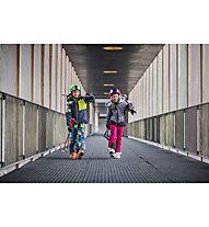 Icepeak Leal - Skijacke - Kinder, Black/White