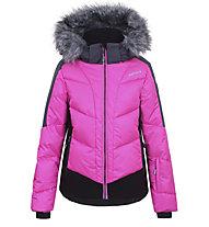 Icepeak Leal JR I - giacca da sci - bambina, Pink/Black