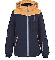 Icepeak Leeds JR - giacca da sci - bambina, Blue/Orange