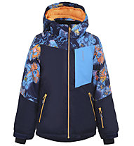 Icepeak Leeds JR - giacca da sci - bambina, Blue/Light Blue